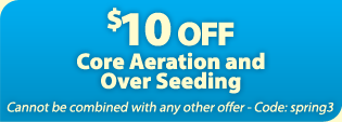 $10 OFF Core Aeration abd Overseeding in Atlanta